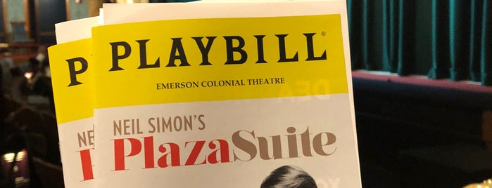 Citi Performing Arts Center Emerson Colonial Theatre is one of Ross 님이 좋아한 장소.