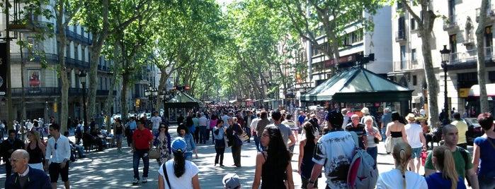 La Rambla is one of Barcelona Essentials.