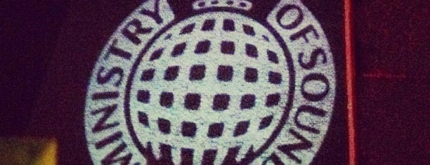 Ministry of Sound is one of Night Club & Lounge & Pub.