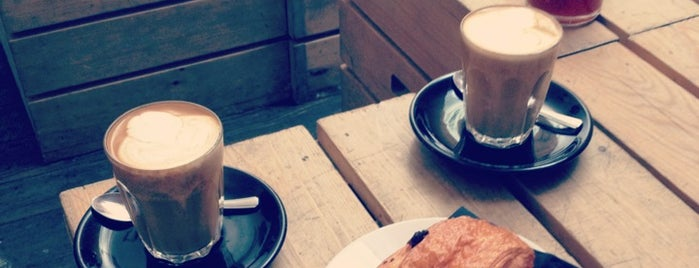Kaffeine is one of London's great locations - Peter's Fav's.