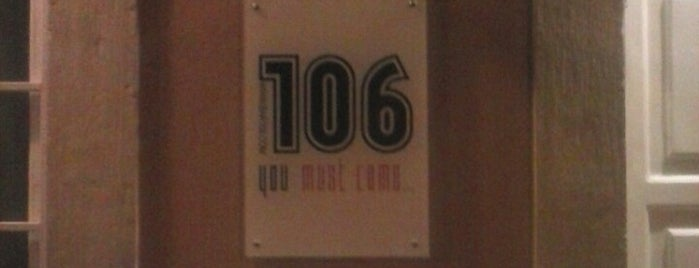 Bar 106 is one of Lisbonne gay.