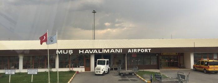 Muş Sultan Alparslan Havalimanı (MSR) is one of Havalimanları.
