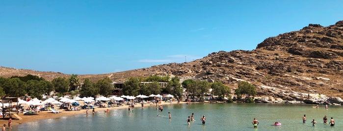 Monastiri Beach is one of Tempat yang Disukai David.