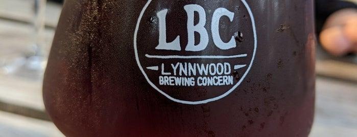 Lynnwood Brewing Concern is one of Tempat yang Disimpan William.