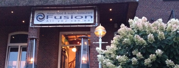 Restaurant Fusion is one of Lieux qui ont plu à Tom.