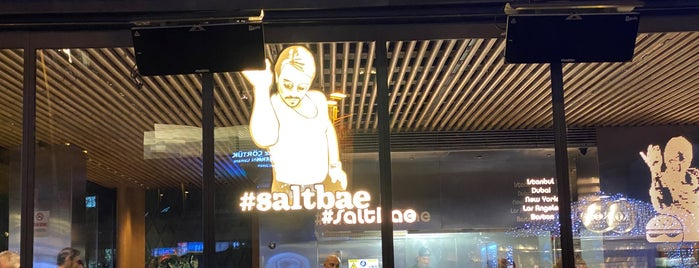 Saltbae Burger is one of İstanbul.