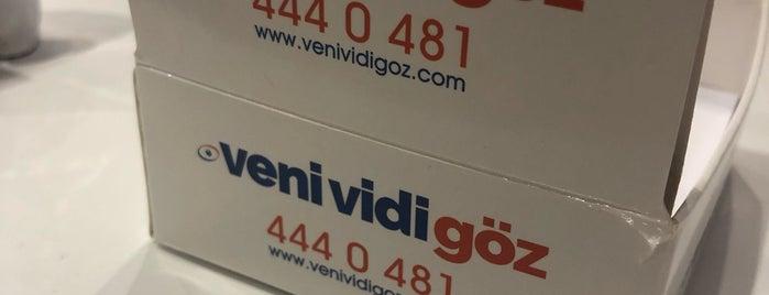 Veni Vidi Göz Sağlığı Merkezi is one of Semin : понравившиеся места.