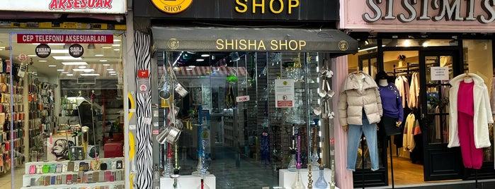 YT Shisha Shop is one of Nargile Dükkanları.