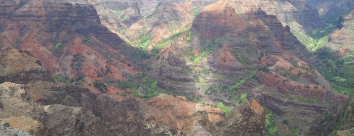 Waimea Canyon & Koke'e State Park is one of Kauai 🌸.