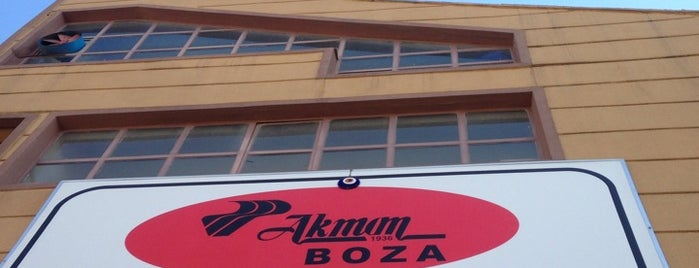 Akman Boza Fabrika is one of Aydınさんの保存済みスポット.