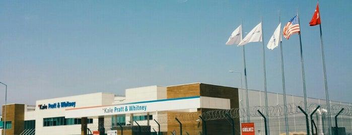 Kale Pratt & Whitney Uçak Motor Sanayi Fabrikası is one of Alpercitoさんのお気に入りスポット.