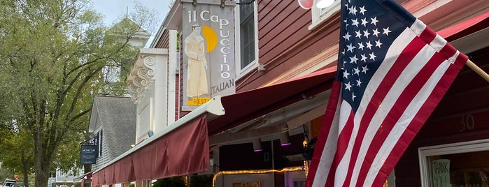 Il Capuccino is one of The utilitarian's guide to the Hamptons.