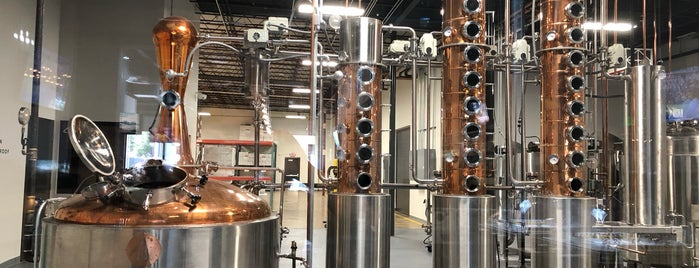 High Bank Distillery is one of Columbus.