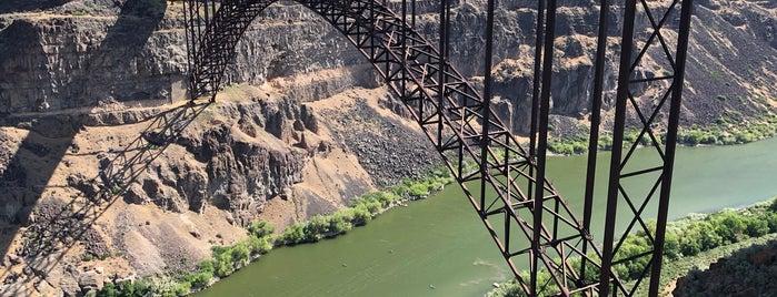 Perrine Bridge Scenic Overlook is one of IrmaZandl : понравившиеся места.