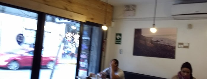 Movement Surfboards Cafe is one of Algunos Cafes.