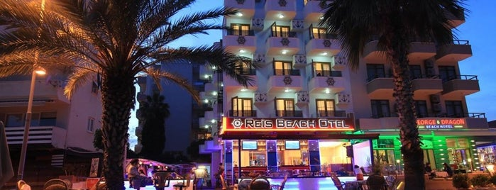 Reis Beach Hotel is one of Locais curtidos por Cennet.