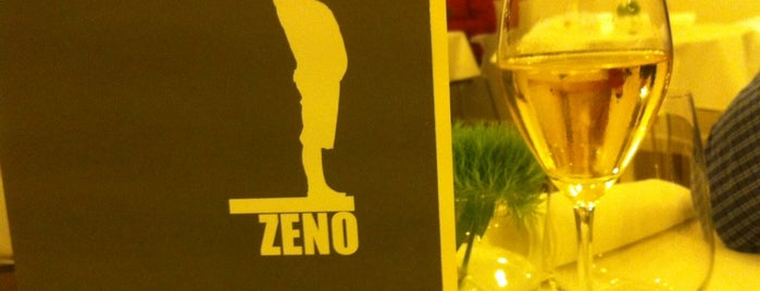 Zeno is one of Gault Millau.