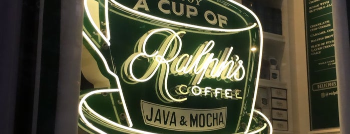 Ralph's Café is one of NYC + boroughs.