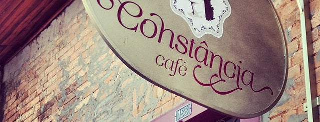 Constância Café is one of Fabio 님이 저장한 장소.