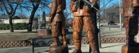Veterans Memorial Park is one of Oklahoma City.