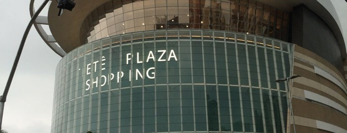 Tietê Plaza Shopping is one of My list restaurantes.