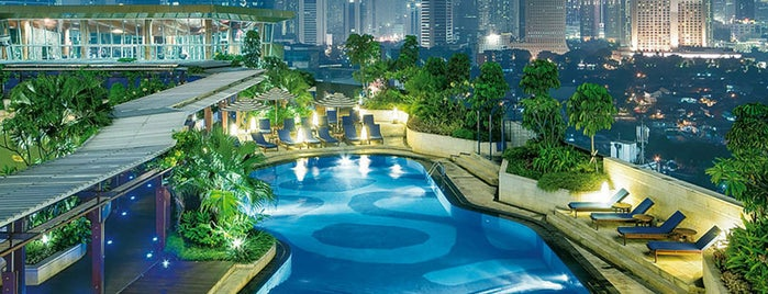 Hotel Indonesia Kempinski Jakarta is one of Jakarta's Top Places = Peter's Fav's.