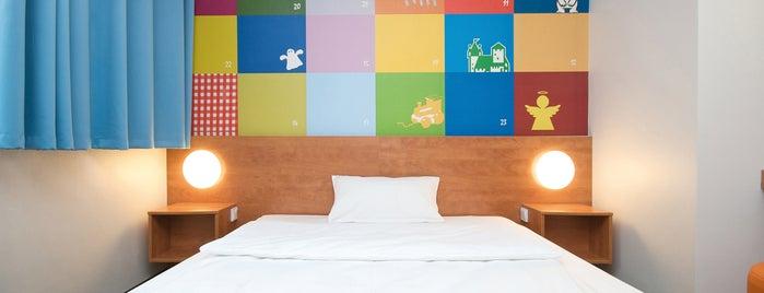 B&B Hotel Nürnberg-City is one of Nürnberg, Deutschland (Nuremberg, Germany).