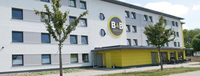 B&B Hotel Mannheim is one of Mannheim.