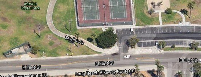 Marina Vista Park is one of Tennis Courts.
