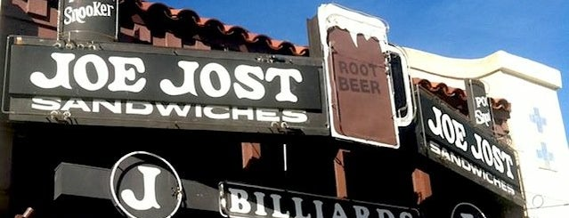 Joe Jost's is one of Thrillist's - 20 Best Bars In Long Beach.