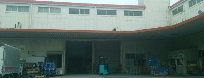 天方産業バス停 is one of 登下校の道.