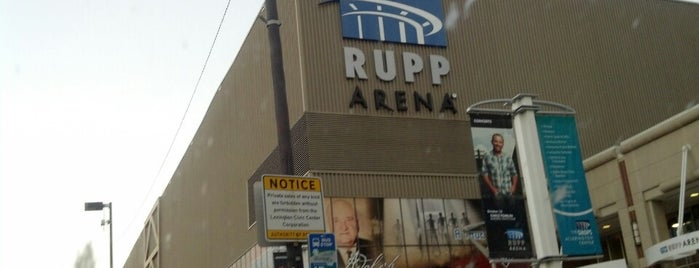 Rupp Arena is one of Events To Visit....