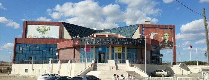 Fen Bilimleri Okulları Kırklareli Koleji is one of Locais curtidos por Soner.