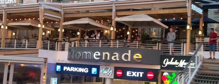 The Promenade is one of Cape Town.