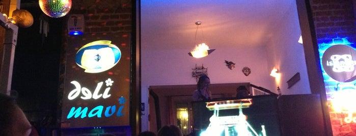 Deli Mavi Cafe & Bar is one of Tempat yang Disukai Leyla.