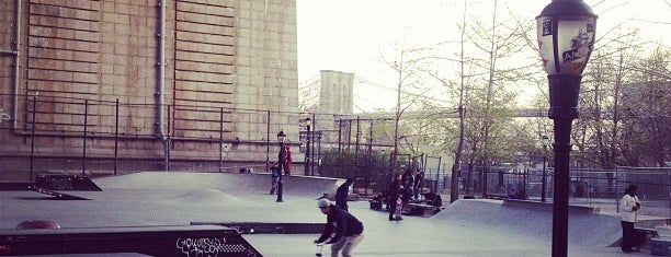 Coleman Playground Skatepark is one of NYC.