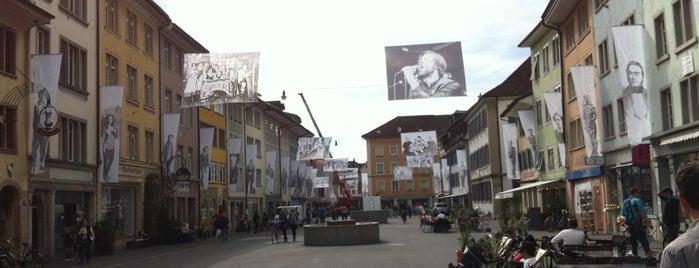 Altstadt Winterthur is one of Büsra 님이 좋아한 장소.