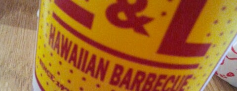 L&L Hawaiian Barbecue is one of San Diego Must Eats.