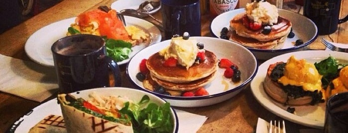 The Breakfast Club is one of London Favourite.