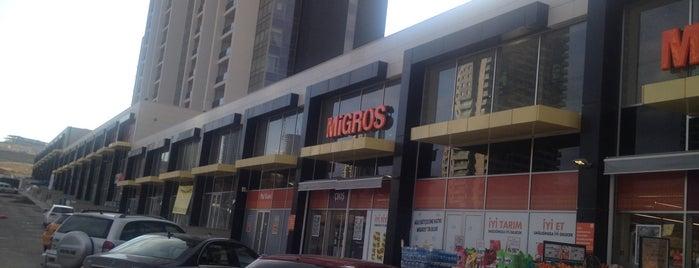 Beytepe M Migros is one of Posti che sono piaciuti a Melis.