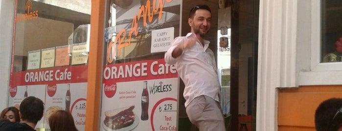Orange cafe is one of like.