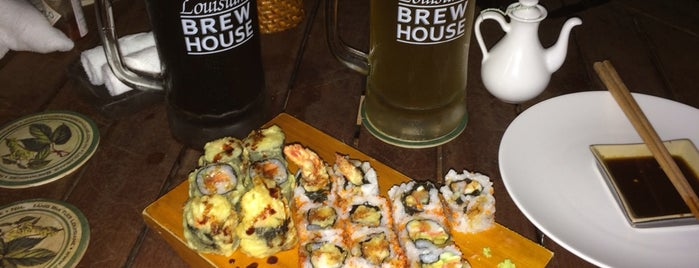 Louisiane Brewhouse is one of Sushi.