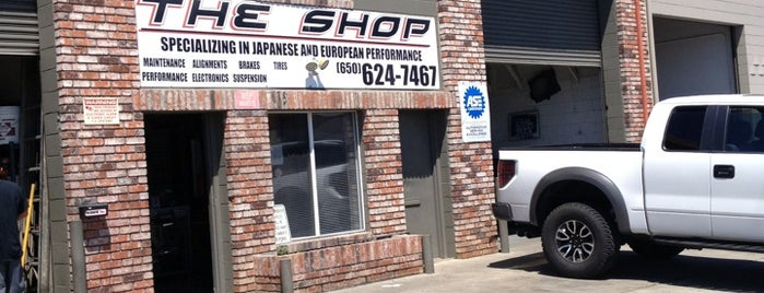 The Shop San Bruno is one of Favorite.