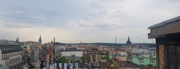 Střecha Lucerny is one of Prag.