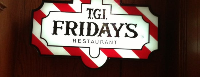 TGI Fridays is one of Marcello Pereira : понравившиеся места.