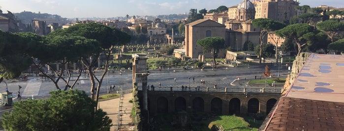Ristorante Roof Garden Forum Roma is one of Italia to-do🇮🇹🍝🍕.