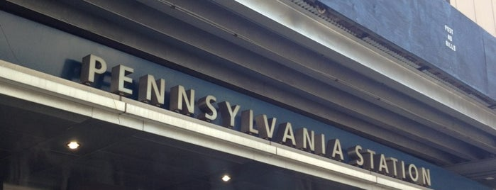 Stazione di Pennsylvania is one of New York City.