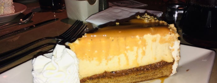 The Cheesecake Factory is one of Cnn : понравившиеся места.