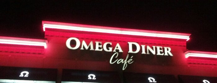 Omega Diner is one of Lieux sauvegardés par Lizzie.