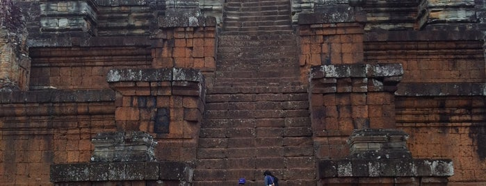 East Mebon is one of Angkor Archaeological Park Highlights.
